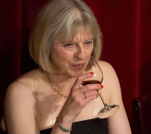 Let's cheer up and cross fingers for more good news from Theresa May in 2014