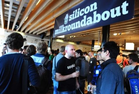 The job fair of the Silicon Milkroundabout in London brings a lot of talents from all over the world dreaming to work for a startup