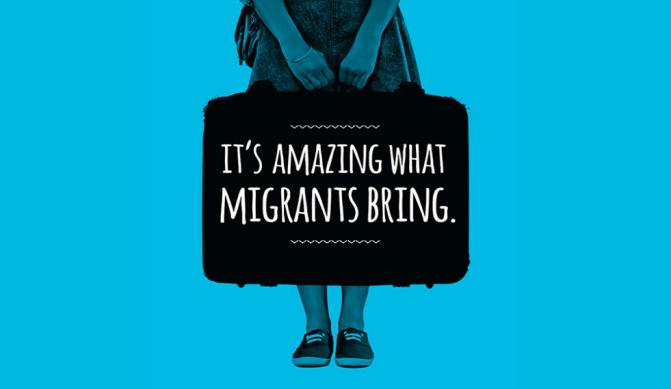 Migrants Contribute: A National Campaign to raise visibility of Immigrants' Positive Contribution to the UK
