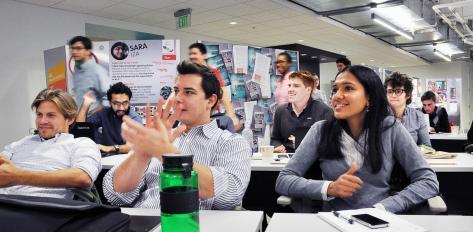 A startup Institute Class