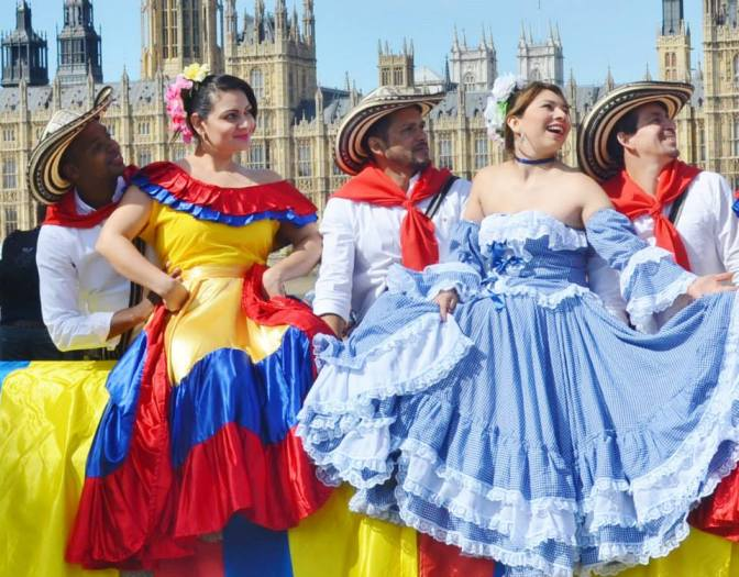 Talentos Group is one of the many Latin American groups that spread Latin American culture in the UK
