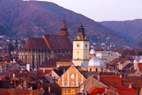 Brasov - Lonely Planet voted the city a top destination in 2015