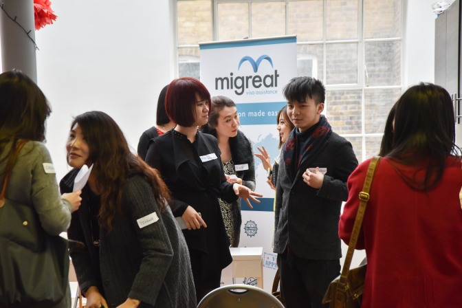 The Chinese Diaspora in London meets at Migreat
