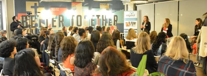Girl Power a la Migreat – a night with inspiring women migrant entrepreneurs