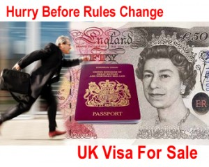 Websites advertising the investor visa before the change of rules in April 2015