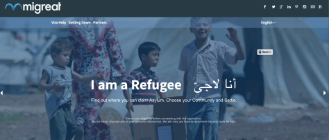 Refugee Immigration Wizard App
